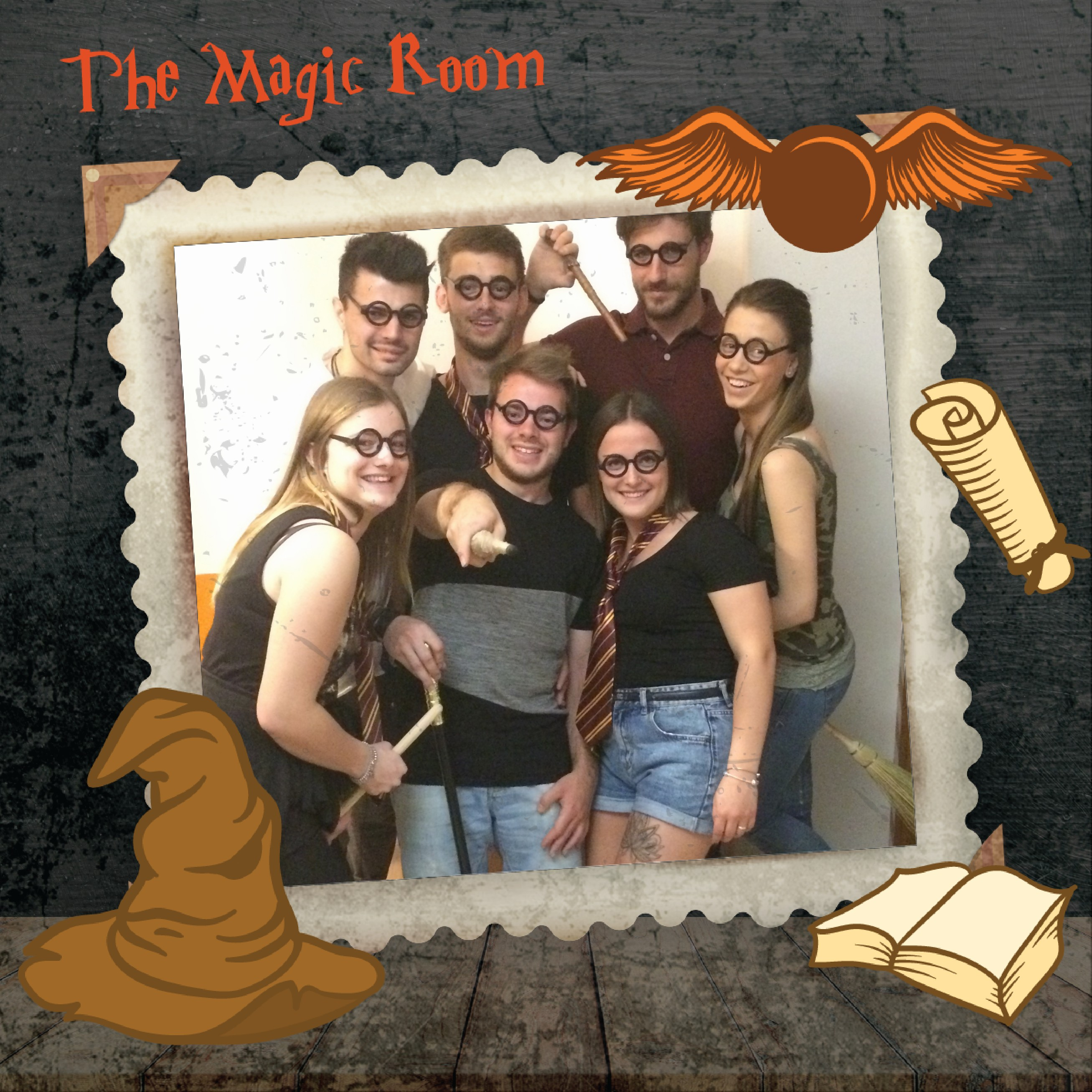 Squadra VASCO MACCAN CHRISTOPHER BURIOLA ARMAND  XUNA SELDA KAZAZI VANESSA GUBITTA ELENA PANTAROTTO DAVIDE BATTISTELLA - OUT! Escape Room a Udine